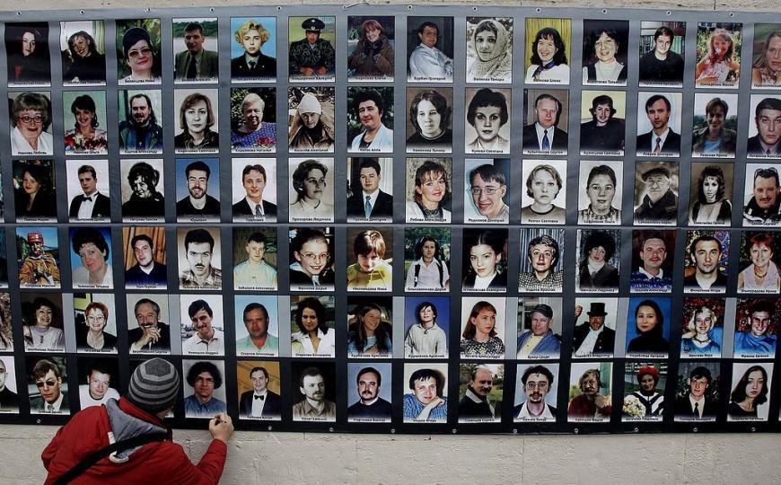 ВЮжнопортовом почтят память жертв теракта наДубровке
