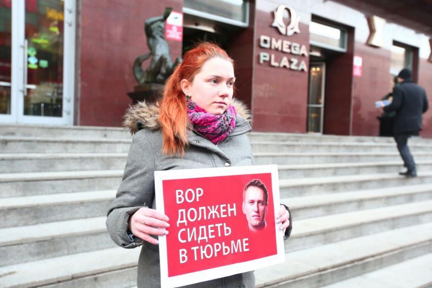 Навальный открыл собственный предвыборный штаб вПетербурге