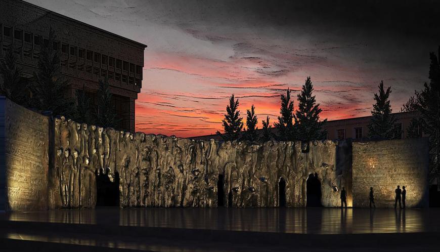 Выставка музея истории ГУЛАГа «Стена Скорби» открылась вМагадане