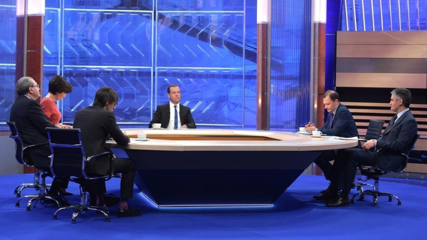 Медведев вчетверг пообщается сроссийскими корреспондентами впрямом эфире