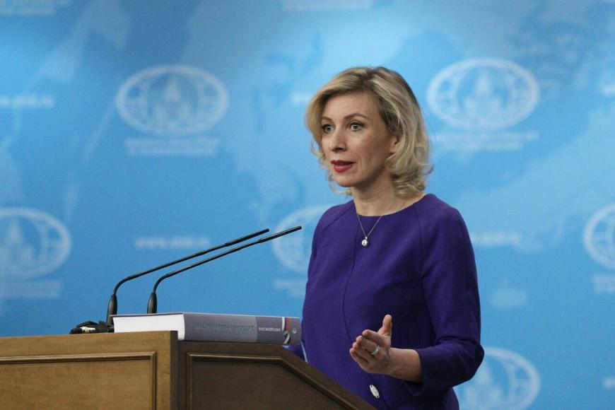 Захарова раскритиковала СМИ США зашумиху вокруг съемки встречи Трампа иЛаврова