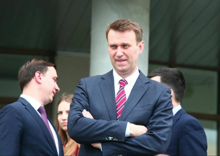 Алексей Навальный собрал несколько тыс. екатеринбуржцев намитинг