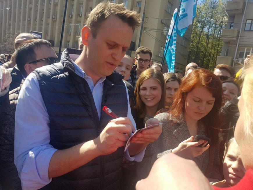 Милиция задержала координатора штаба Алексея Навального вСаратове