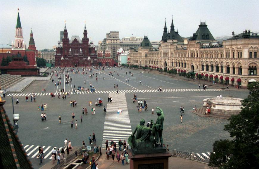 Красная площадь вошла врейтинг мест, которые нужно посетить вевропейских странах