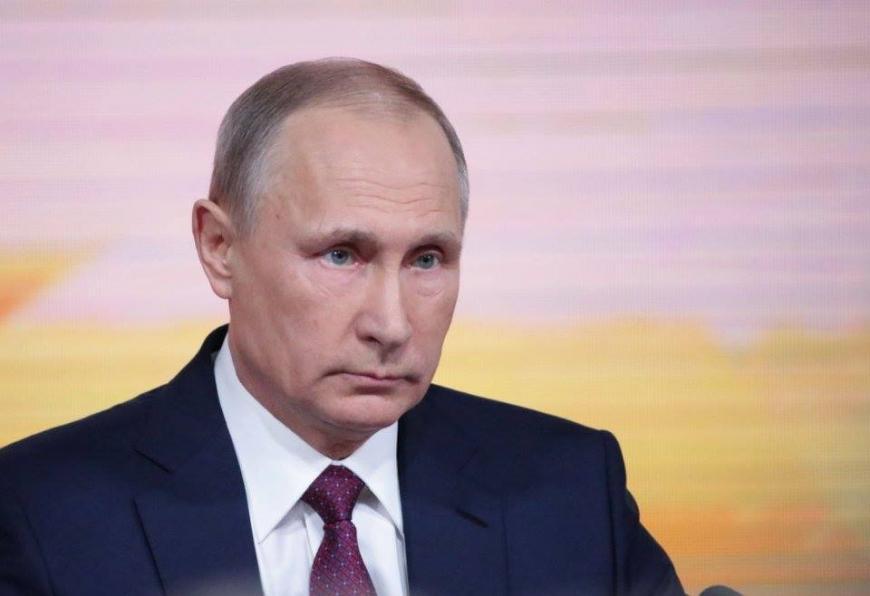 Путин вовремя визита впредвыборный штаб сказал , что вжизни главное