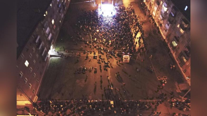 ВКемерове навстречу сНавальным пришли не неменее 500 человек