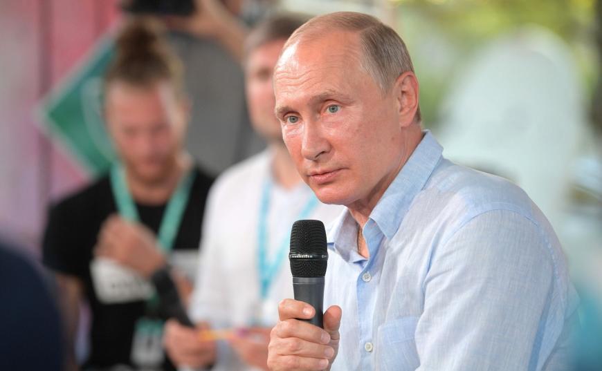 Автор фильма про Крым снял документальную картину оВладимире Путине