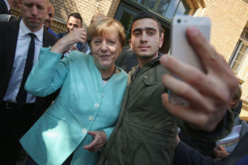 Меркель уступает попопулярности Путину вЧехии