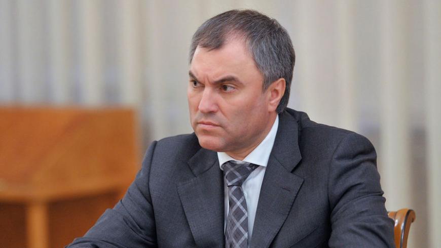 Володин обвинилЕС в несоблюдении свободы слова