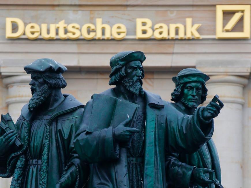 Deutsche Bank после победы Трампа советует вкладываться в руб.