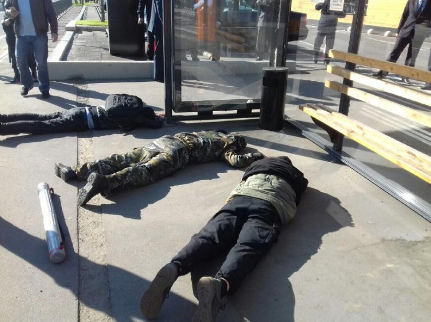 Милиция пресекла провокационную акцию «Левого блока» вподмосковной Барвихе