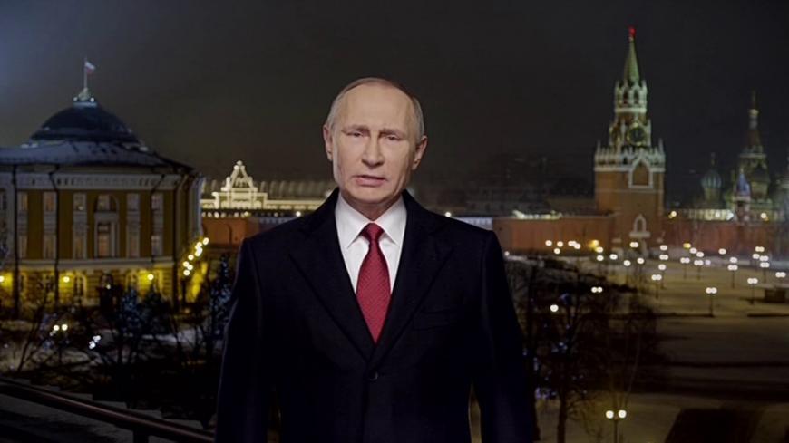 Обращение В.Путина стало самым рейтинговым вновогоднем эфире