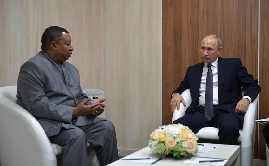 Руководитель ОПЕК назвал В. Путина образцовым лидером