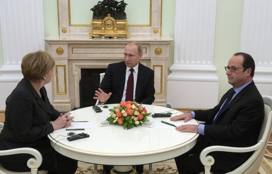 Путин, Меркель иОлланд договорились увидеться наG20 без Порошенко