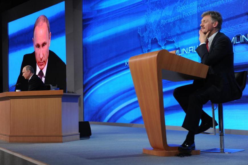 Песков объявил о вероятной выгоде конкуренции для В. Путина