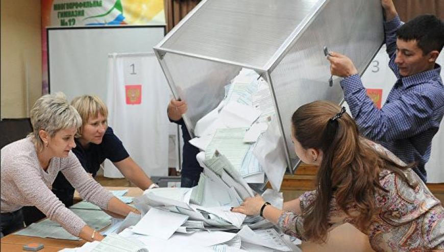 Выборы-2016: Центризбирком Российской Федерации объявил первые официальные результаты