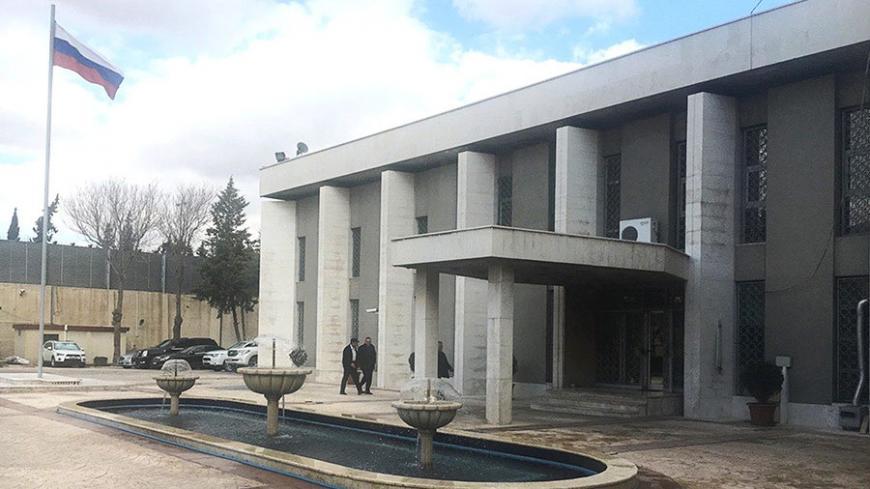 ПосольствоРФ вДамаске обстреляли изминометов