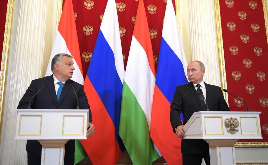 Путин обозначил энергичное развитие отношенийРФ иВенгрии почти повсем направлениям