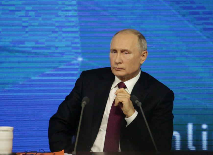 Путин поздравил народ Украины с Днем Победы | Korrespondent.net