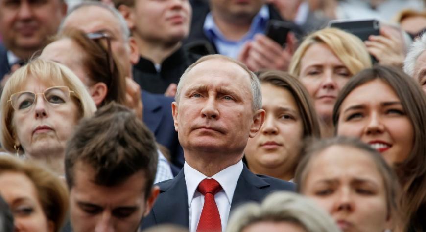 67% граждан России готовы проголосовать за В.Путина — Опрос