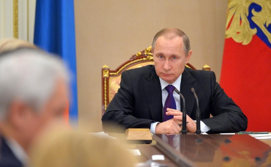 Путин поручил повысить безопасность государственных информационных систем