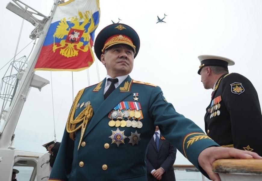 ВКрым приехал руководитель Минобороны Российской Федерации Сергей Шойгу