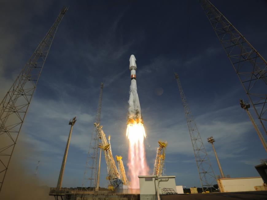 При запуске спутника ГЛОНАСС у«Союза» выключился мотор