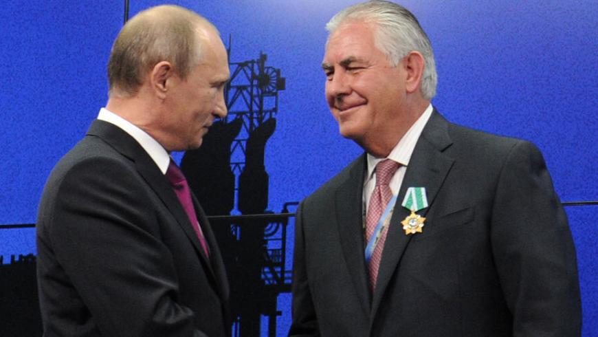 Новым госсекретарем США будет руководитель нефтяной компании Рекс Тиллерсон