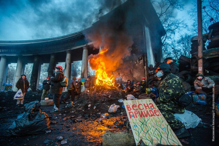 Сторонники «евромайдана» готовы сотрудничать сНавальным, чтобы повторить вРФ украинский сценарий