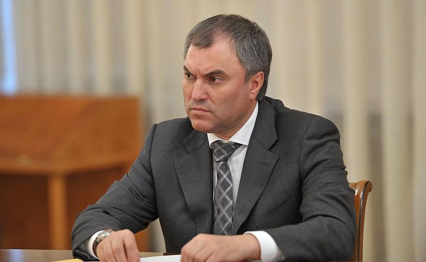 Володин отыскал уникального кандидата впрезиденты