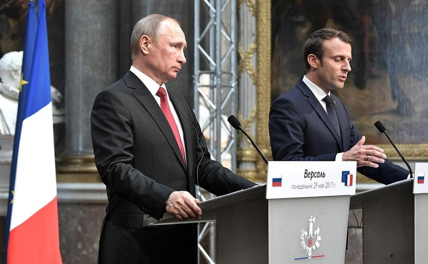 Путин: инвестиции Франции в РФ увеличились на $2,5 млрд