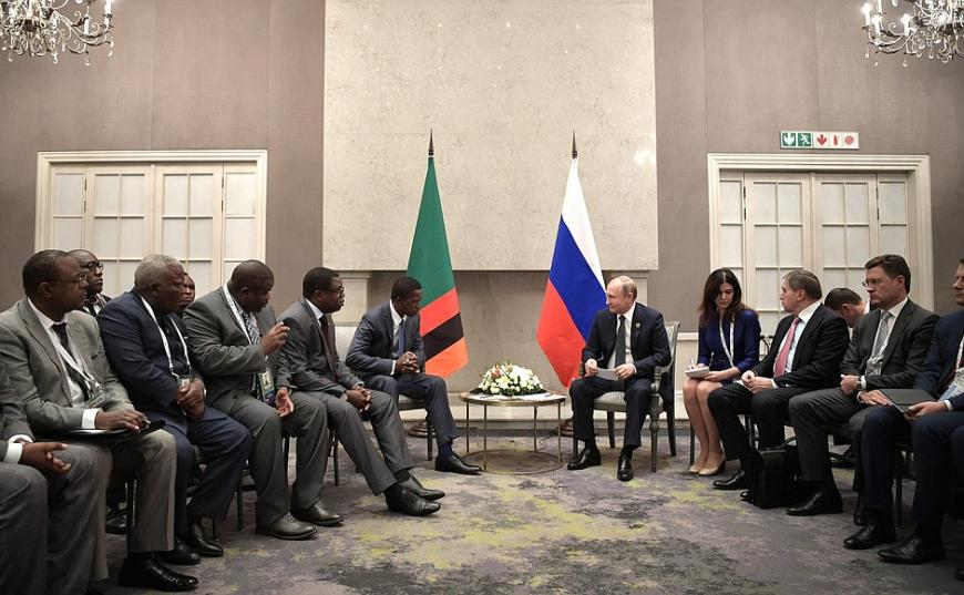 Путин посетил встречу лидеров стран БРИКС вЙоханнесбурге