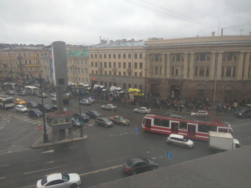 Взрывчатка, сработавшая вметро Петербурга, содержала поражающие субъекты