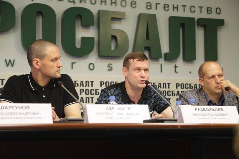 Оппозиционера Удальцова снова задержали